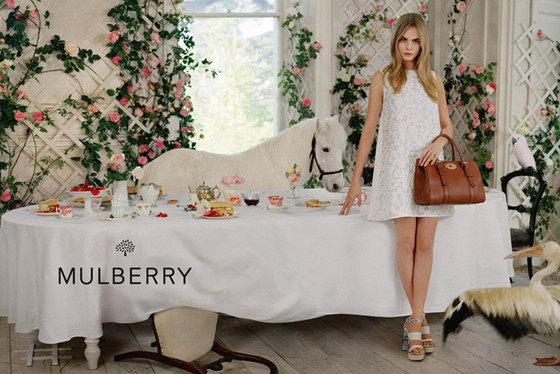 Cara Delevingne, Mulberry 2014 Campaign