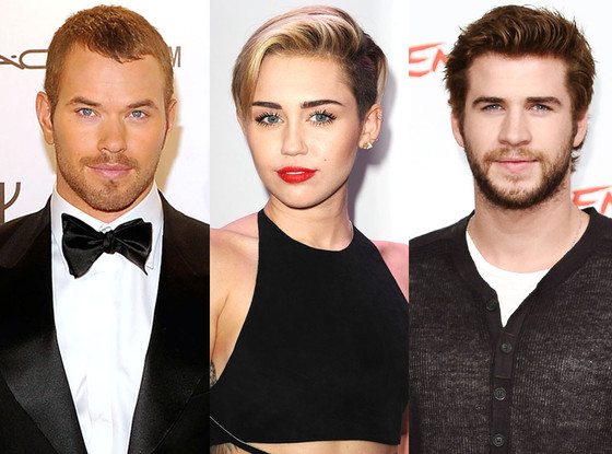 Miley Cyrus, Liam Hemsworth, Kellan Lutz
