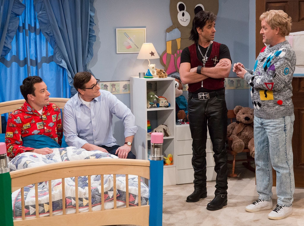 Jimmy Fallon, Bob Saget, John Stamos, Dave Coulier, Full House Reunion
