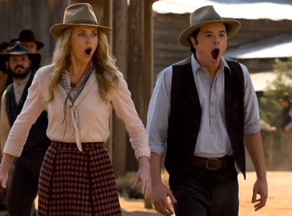 Charlize Theron, Seth MacFarlane, A Million Ways To Die In The West