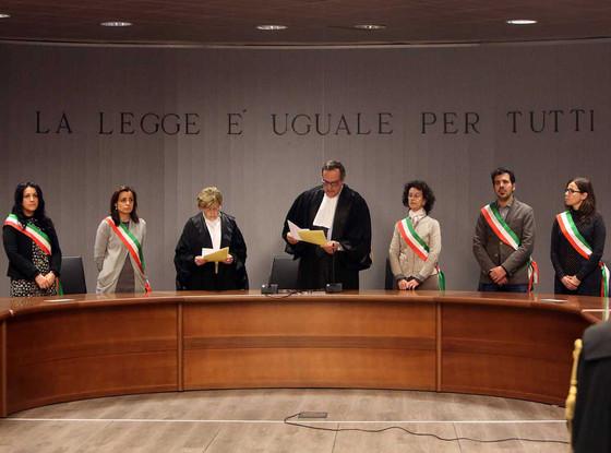 Amanda Knox, Raffaele Sollecito, Retrial Courthouse of Florence