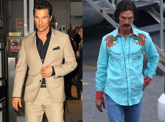 Matthew McConaughey, Body Transformations