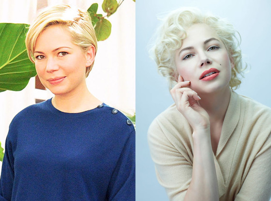 Michelle Williams, Body Transformations