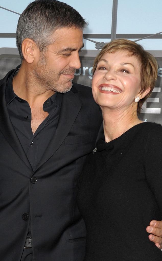 George Clooney, Nina Clooney, Nina Warren