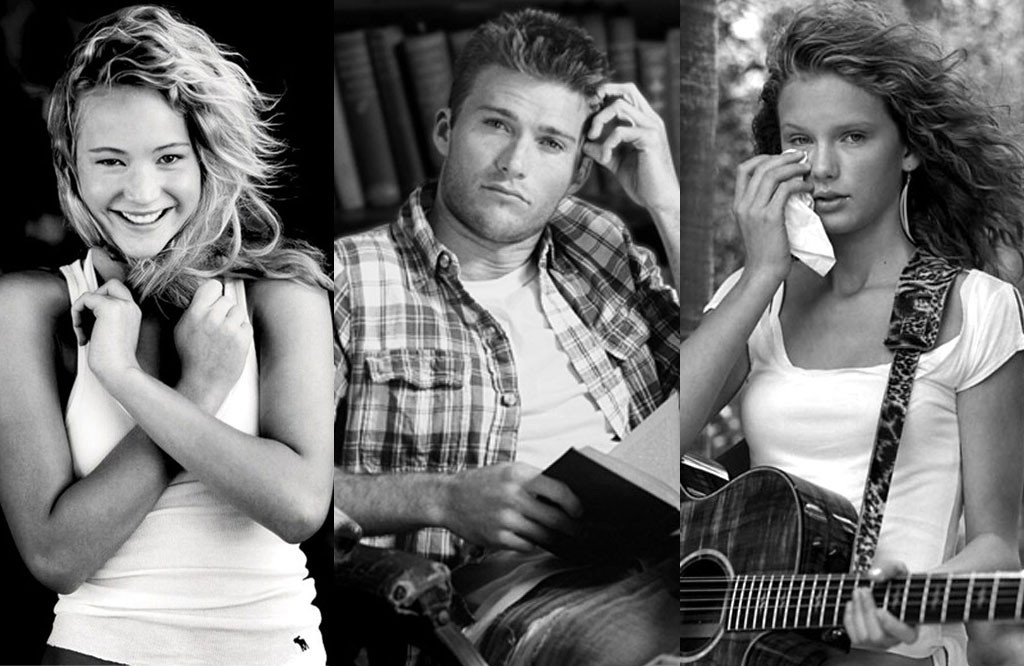 J Law T Swift More Stars Who Ve Modeled For Abercrombie Fitch E Online