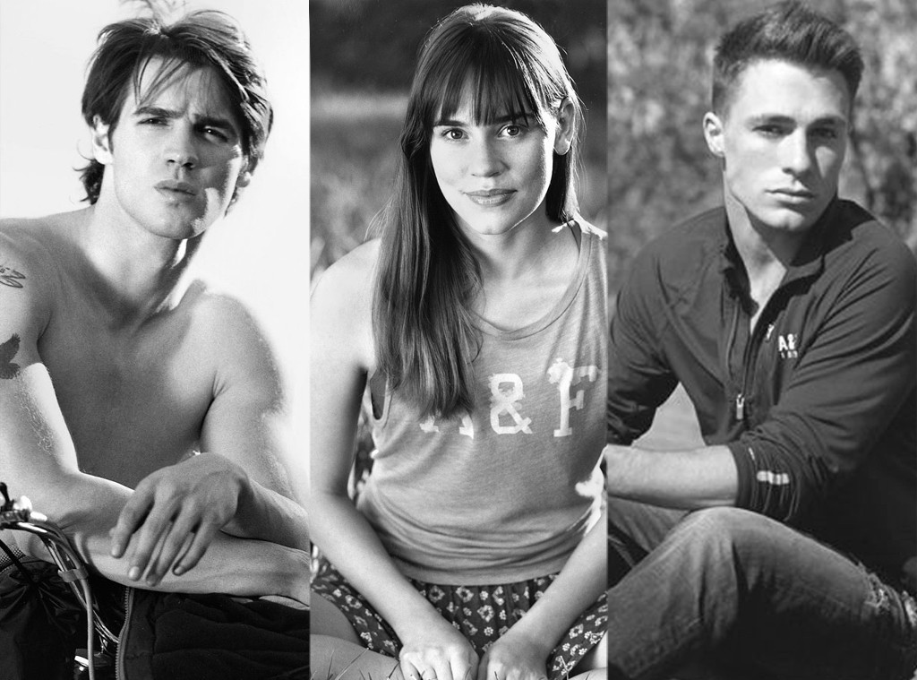 Abercrombie and Fitch, Campaign, Colton Haynes, Steve McQueen, Christa B. Allen