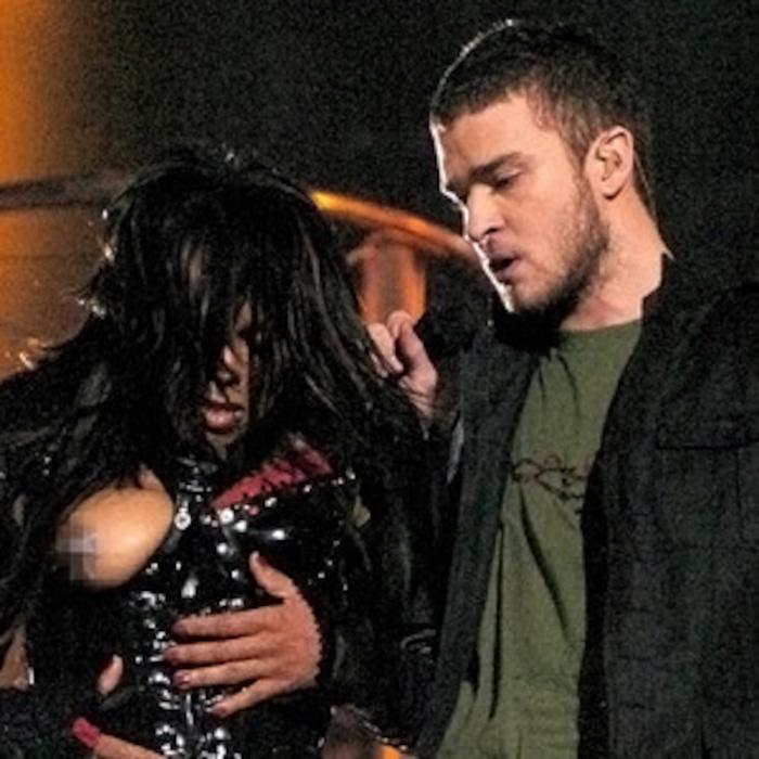 Janet Jackson's Wardrobe Malfunction: Remembering Nipplegate ...