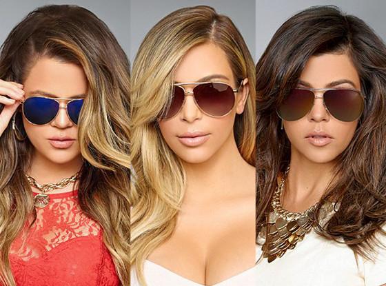 1baa88479715 Kardashian Sisters Release New Line of Sunglasses—Take a Peek!