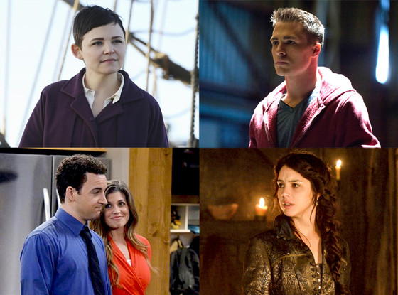 Once Upon A Time, Girl Meets World, Arrow, Reign