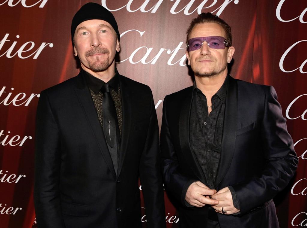 Bono, The Edge, Palm Springs International Film Festival