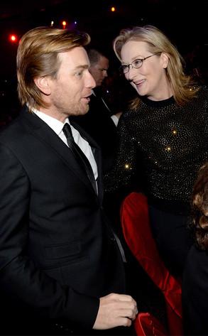 Ewan McGregor, Meryl Streep