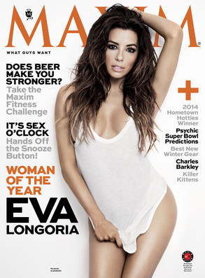 Eva Longoria, Maxim Magazine, Woman of the Year