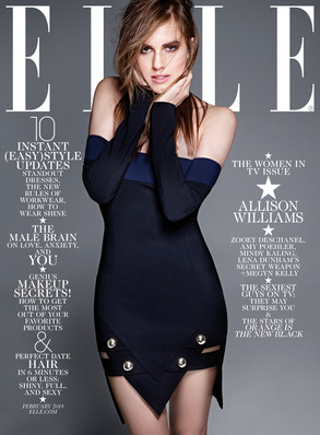 Allison Williams, Elle Magazine