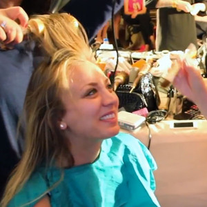 Kaley Cuoco Wedding Makeup Video