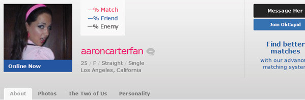 OK Cupid Awful Profile