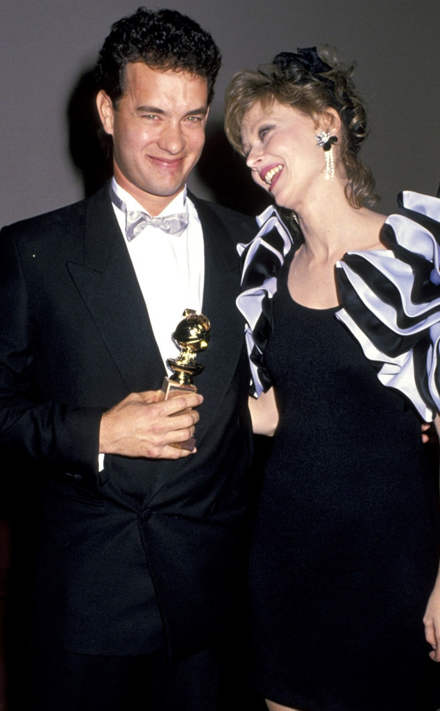 Tom Hanks, Shelly Long, Golden Globes