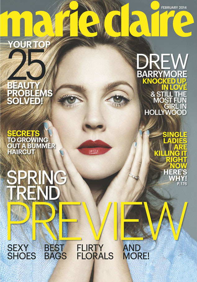 Drew Barrymore, Marie Claire