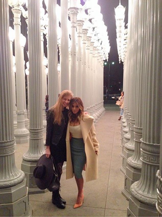 Kim Kardashian, Laura Arrillaga-Andreessen, Instagram