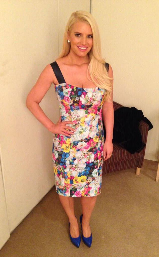 Jessica Simpson, Twit Pic