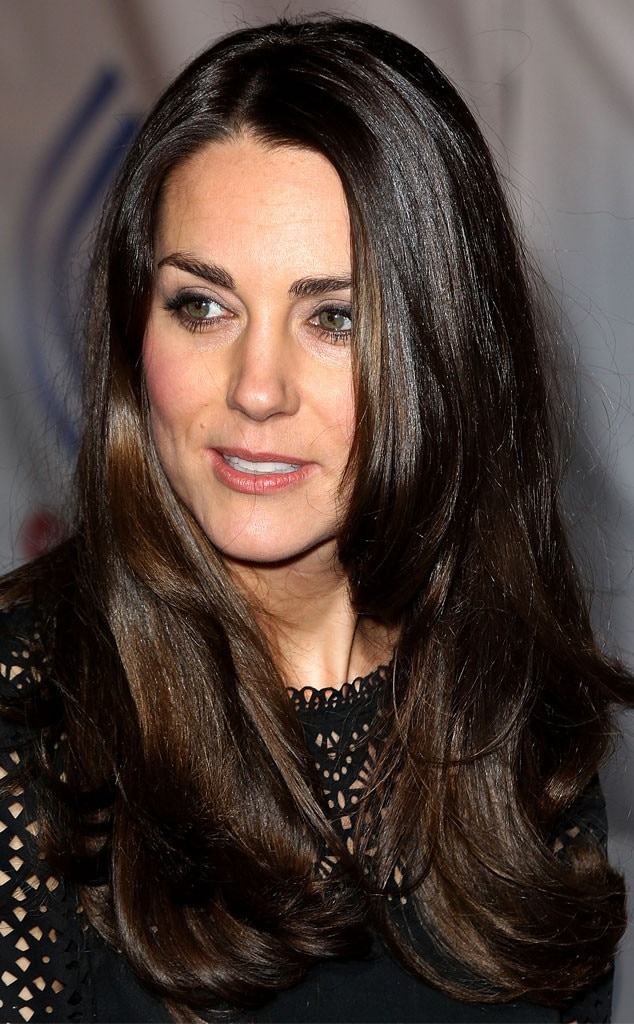 The Dark Side from Kate Middleton's Best Hair Moments | E ...