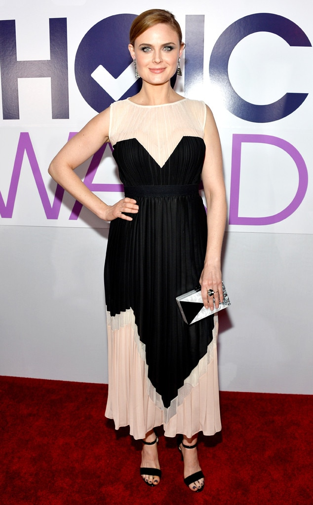 Emily Deschanel, People's Choice Awards