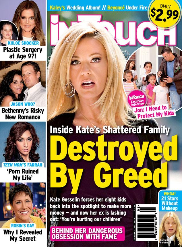 In Touch Weekly, Kate Gosselin