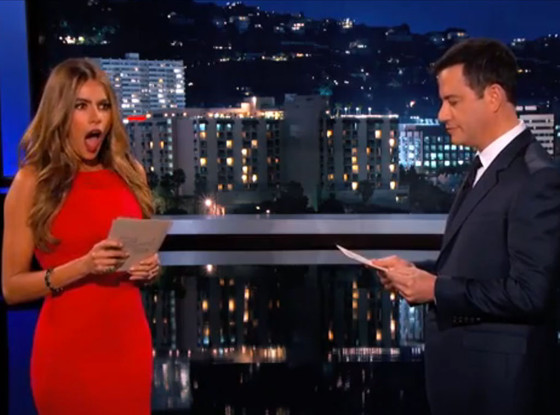 Sofia Vergara, Jimmy Kimmel