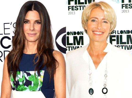 Sandra Bullock Would Go Gay for Emma Thompson, According to