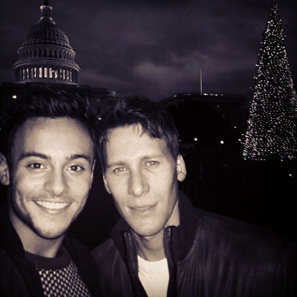 Tom Daley, Instagram