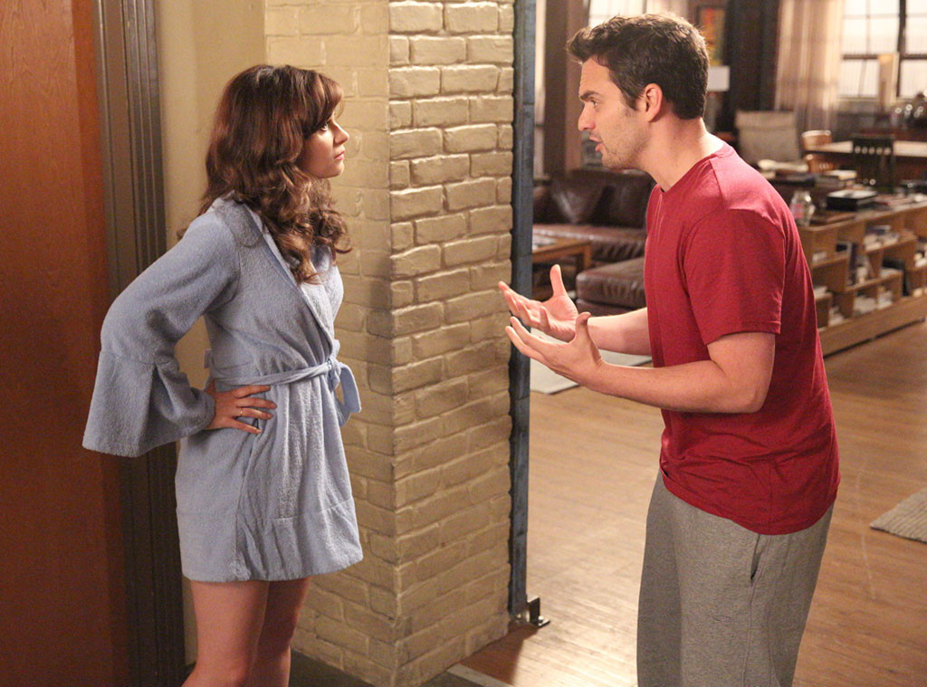 Zooey Deschanel, Jake Johnson, New Girl