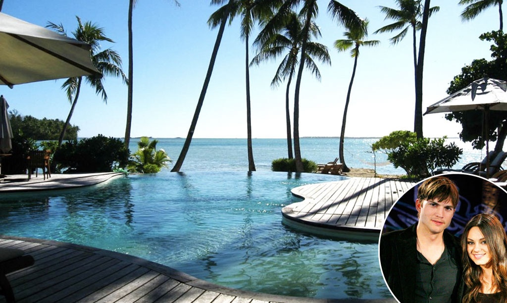 Babymoon, La Taha'a Island Resort, French Polynesia, Ashton Kutcher, Mila Kunis