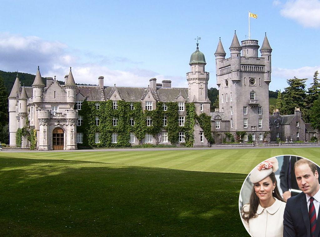 Babymoon, Balmoral Castle Scotland, Prince William, Kate Middleton