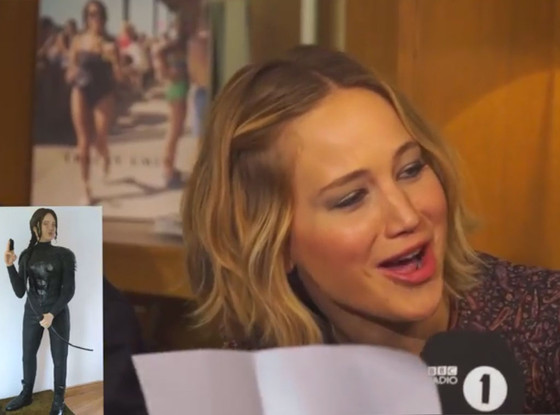 Jennifer Lawrence, Cake reaction