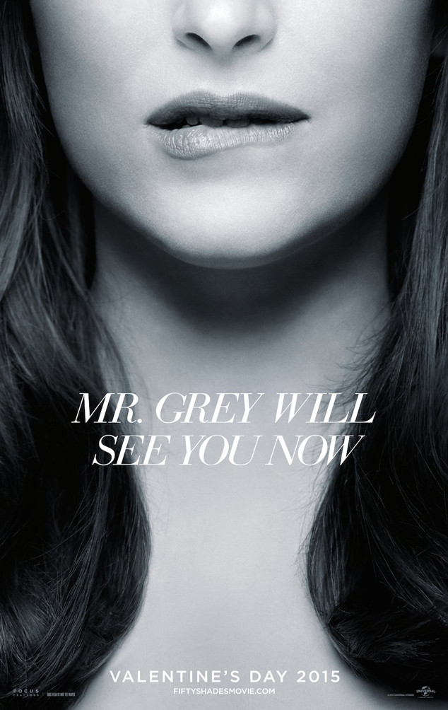 Dakota Johnson, Fifty Shades of Grey Poster
