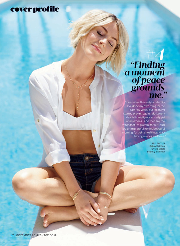 Julianne Hough, Shape Magazine