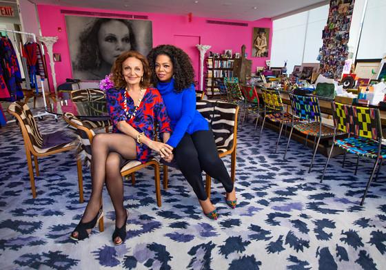 Diane Von Furstenberg, Oprah Winfrey, O Magazine