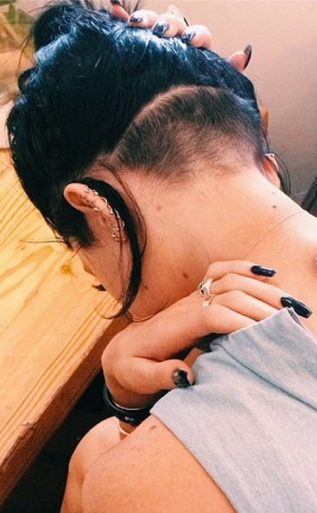 Napes Up -  Just ahead of the 2014 VMA Awards, she opts for added edge by shaving her nape.