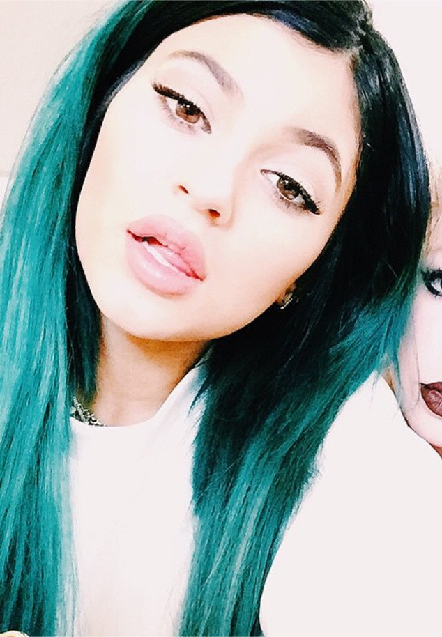 Kylie Jenner S Hair Evolution Which Color Was Her Craziest Ever E Online