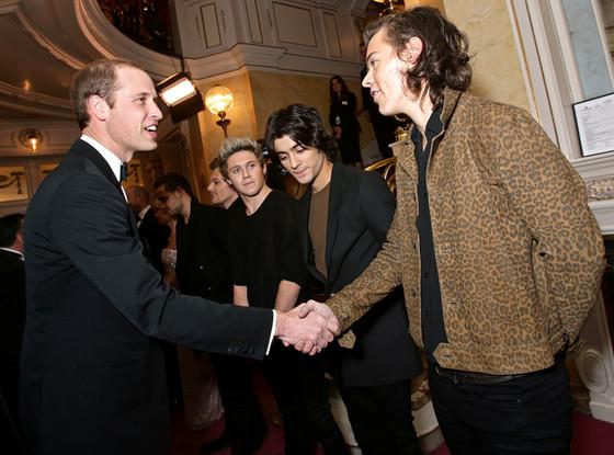 Prince William, Duke of Cambridge, Harry Styles