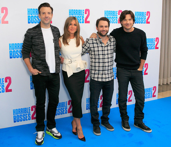 Jason Sudeikis, Jennifer Aniston, Charlie Day, Jason Bateman