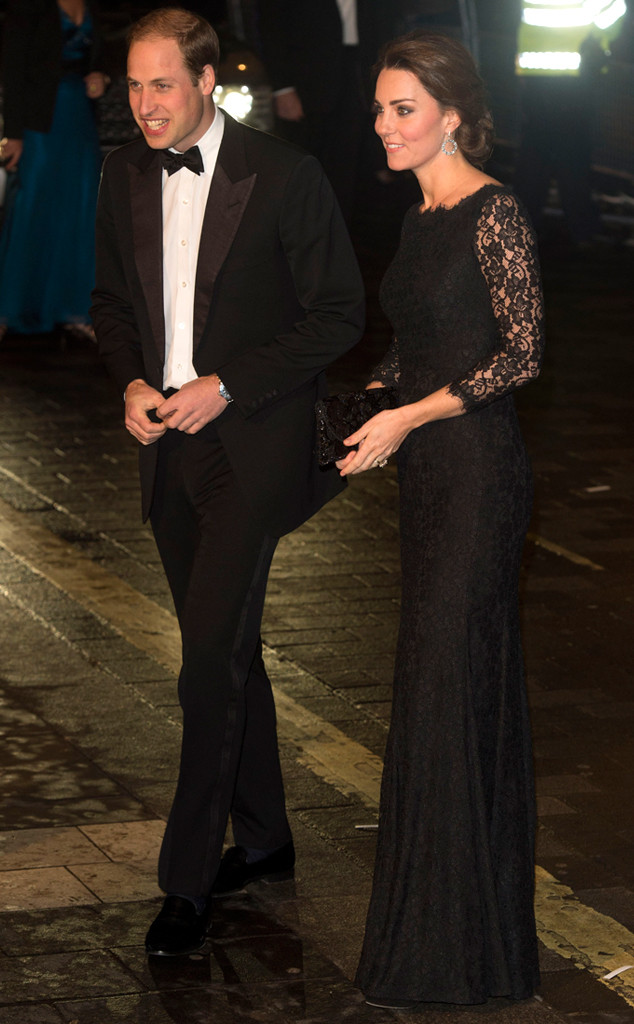 Kate Middleton and Prince William Attend Charity Gala in London—See ...
