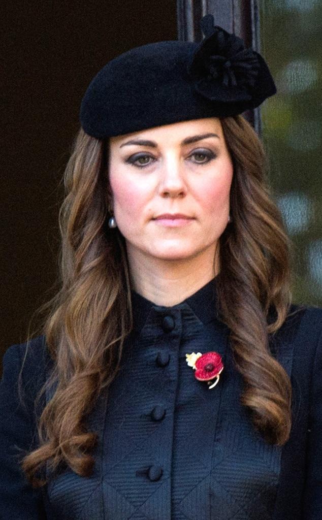 Black Beret from Kate Middleton's Hats & Fascinators | E! News