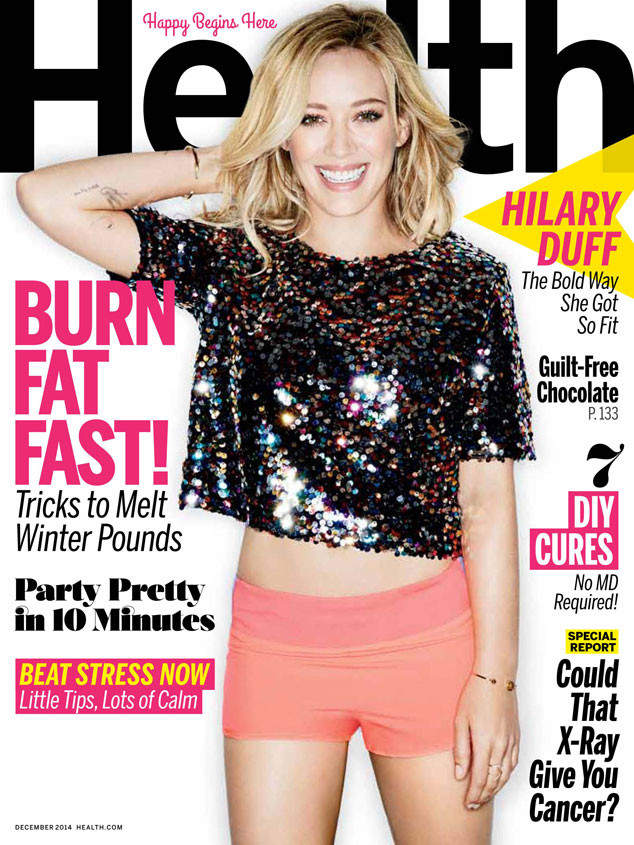 Hilary Duff, Health