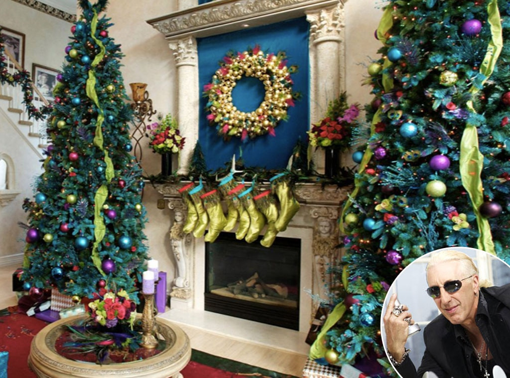 Holiday Decor, Celeb Style, Dee Snider