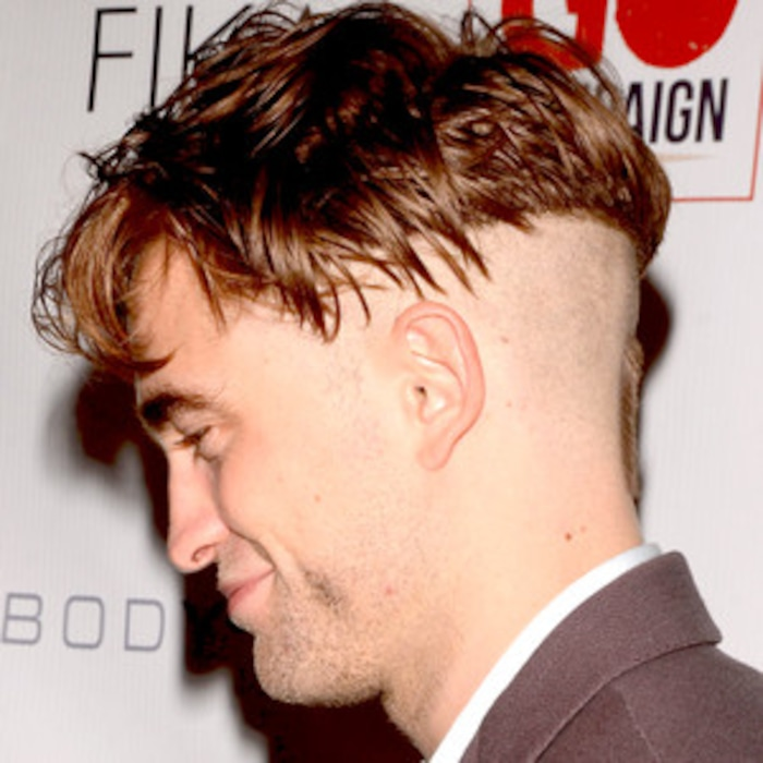 Robert Pattinson Shows Off His Wacky Shaved Haircutyou Gotta See It