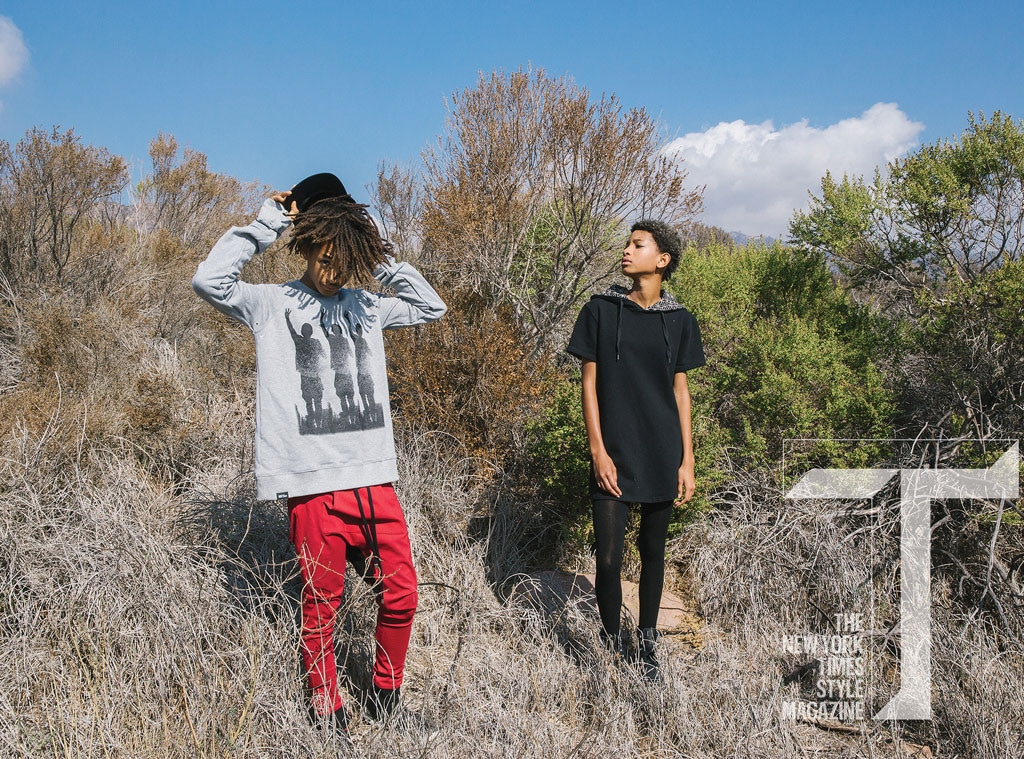 Jaden Smith, Willow Smith, T Magazine