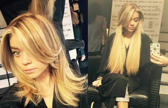 Sarah Hyland, Hair