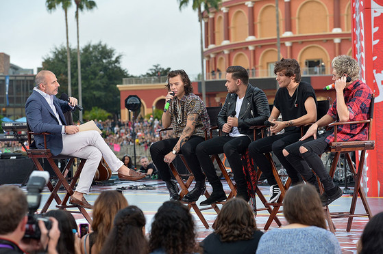 Matt Lauer, One Direction