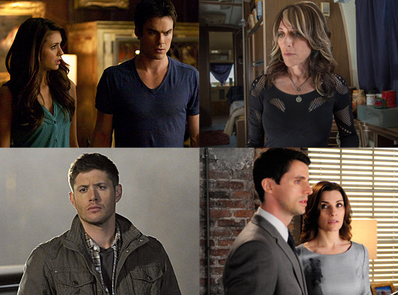 The Vampire Diaries, The Good Wife, Sons of Anarchy, Supernatural