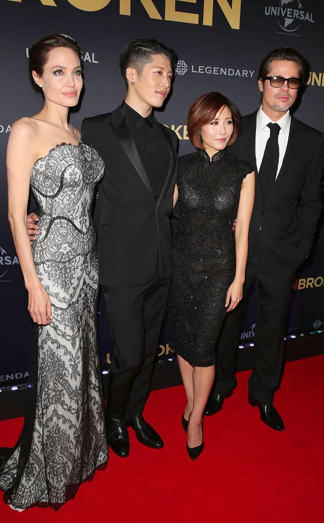 Angelina Jolie, Melody Ishihara, Miyavi Ishihara, Brad Pitt